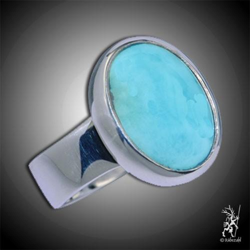LARIMAR Design Echtsilber Ring