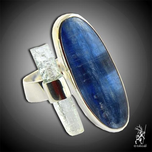 DISTHEN AQUAMARIN Design Echtsilber Ring