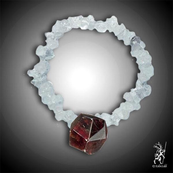 HARMONIE KRISTALLBAND GRANAT Kristall