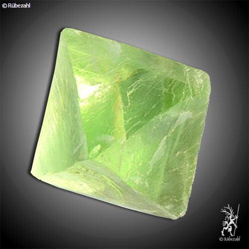 FLUORIT grün Oktaeder