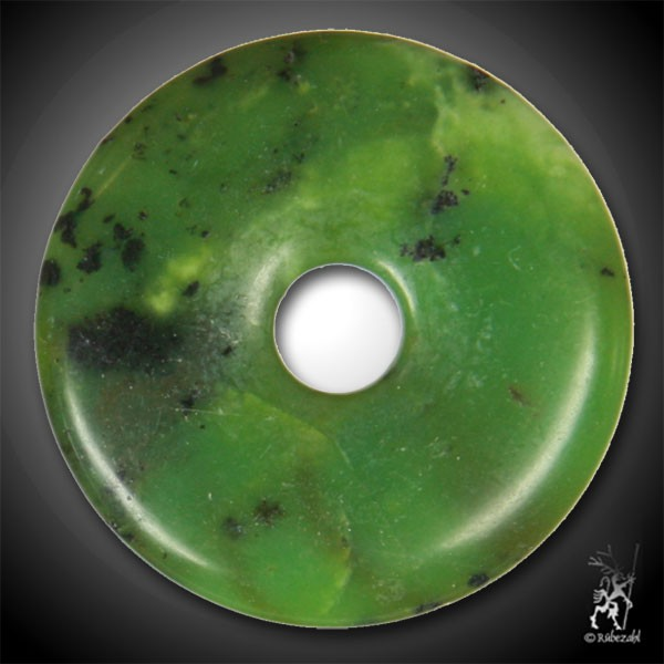 SERPENTIN dunkelgrün Donut