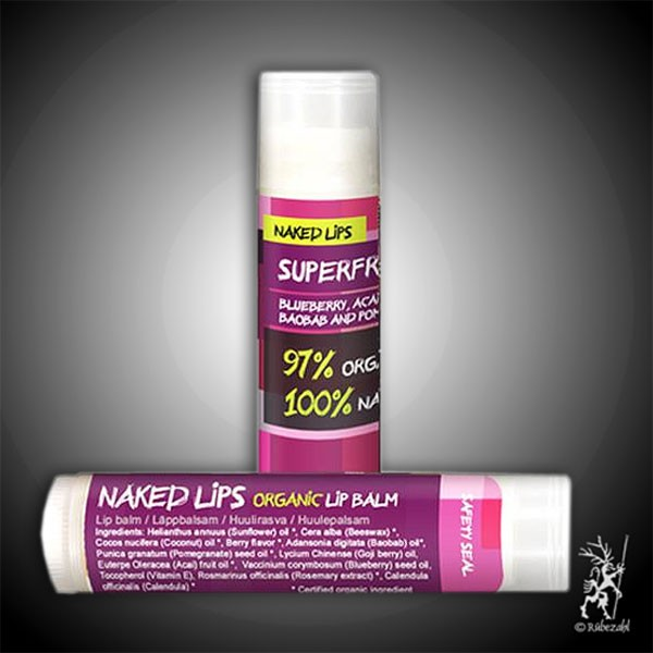 SUPERFRUIT BIO ECO Naked Lips biologischer Lippenbalsam