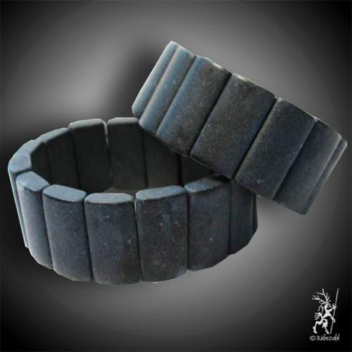ONYX matt Board Armband