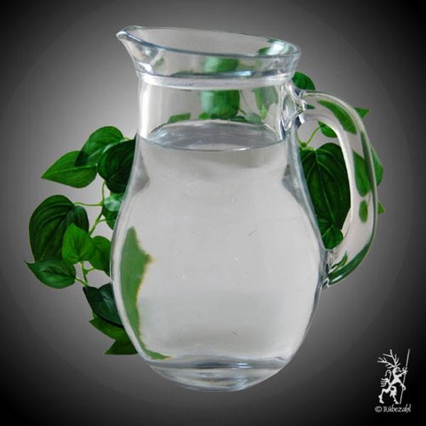GLASKARAFFE  0,5 Liter