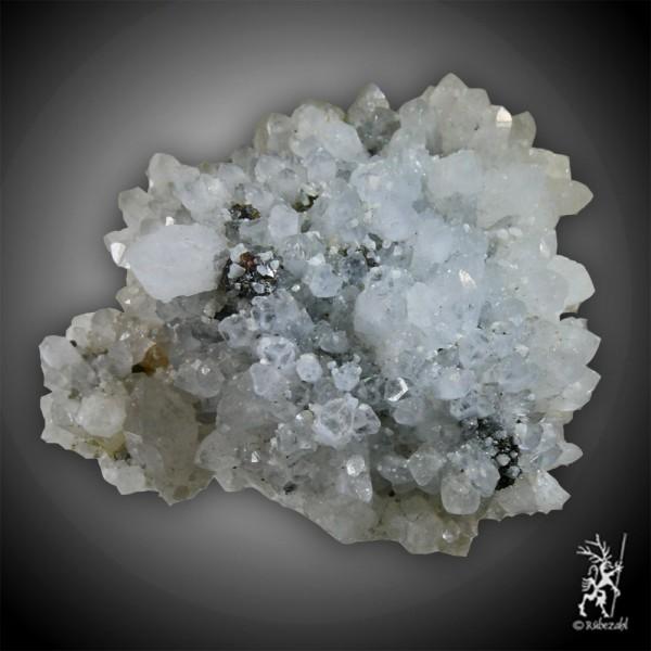CALCIT Stufe mit Dolomit, Pyrit, Zinkblende