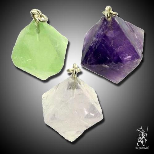 FLUORIT Oktaeder Anh.geol.
