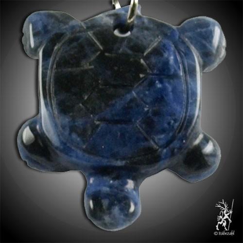 SODALITH Schildkröte Schlüsselanhänger