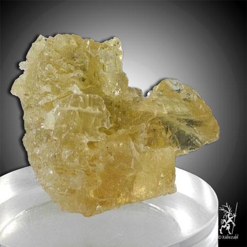 HELIODOR BERYLL skelettierter Kristall Unikat