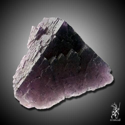 FLUORIT violett Naturkristall