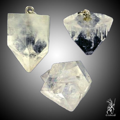 APOPHYLLIT Kristall Anh.geol. weiss