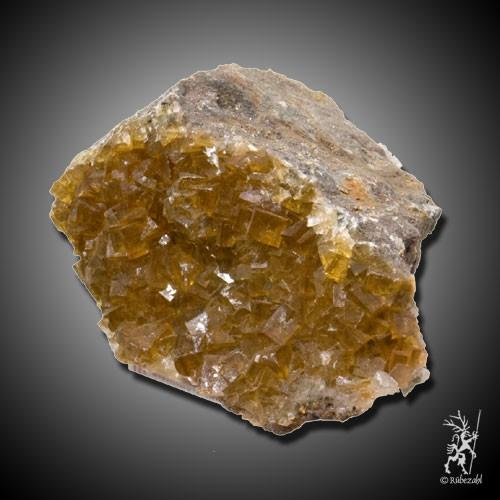 FLUORIT gelb Naturkristall
