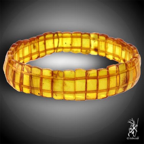 BERNSTEIN gelb Board Armband
