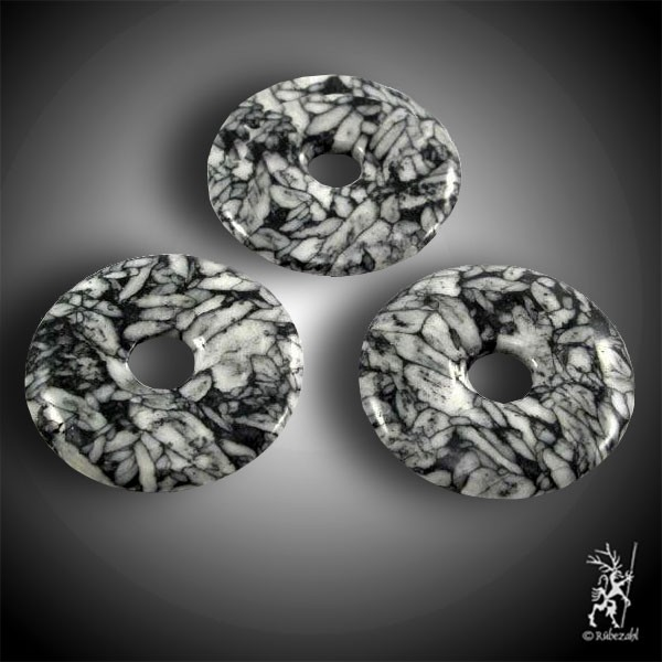 PINOLITH (Eisblumenmagnesit) Donut 40 mm