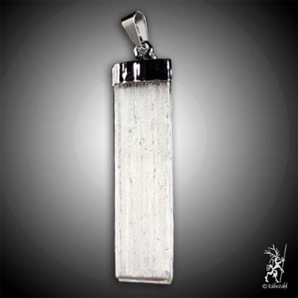 SELENIT Silberkappe Anhänger