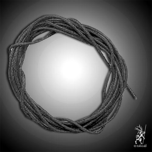 BAUMWOLLBAND schwarz 1 m