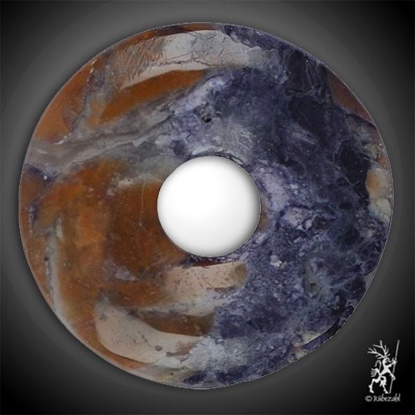 FLUORIT OPAL (Tiffany Stone) Donut 30 mm