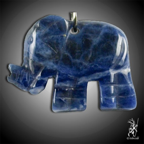 SODALITH Elefant Schlüsselanhänger