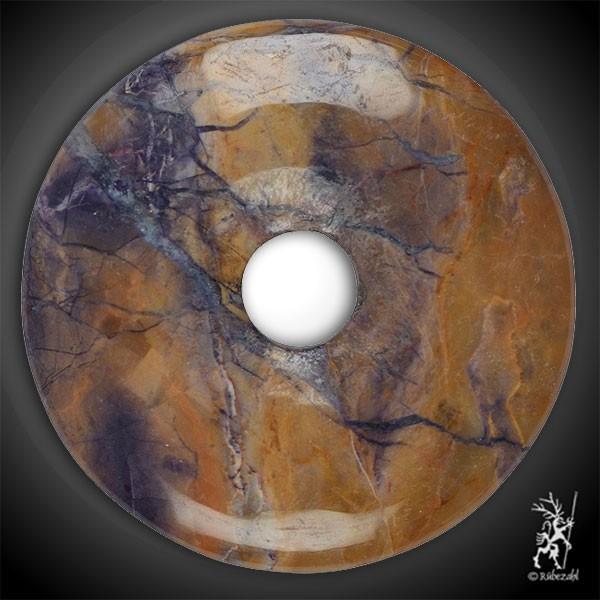 FLUORIT OPAL (Tiffany Stone) Donut 40 mm