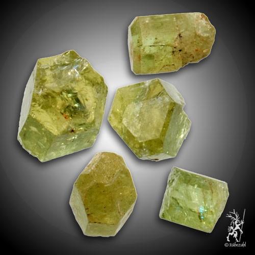 APATIT Kristall gelb/grün