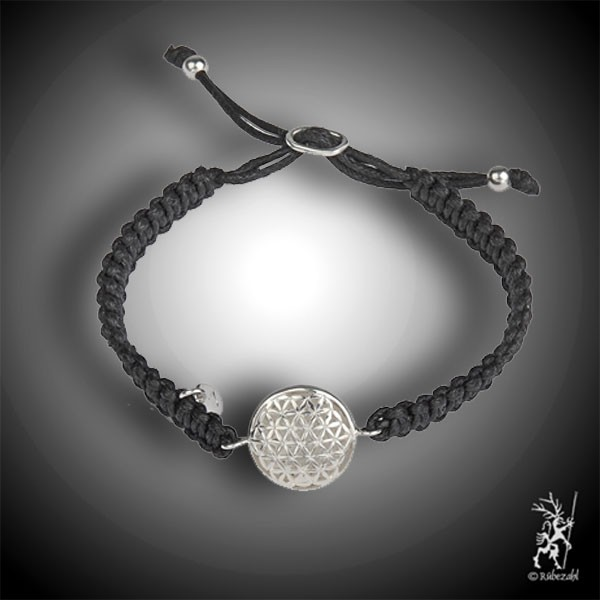 BLUME DES LEBENS Macramee Armband