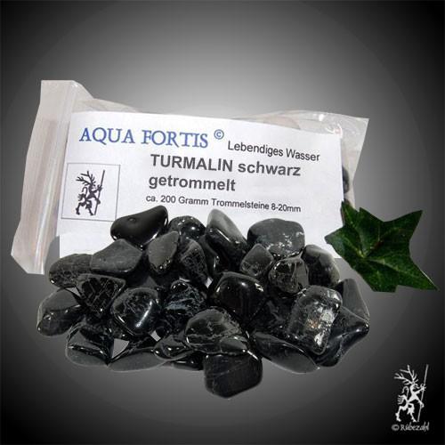TURMALIN schwarz getrommelt 200 gr.