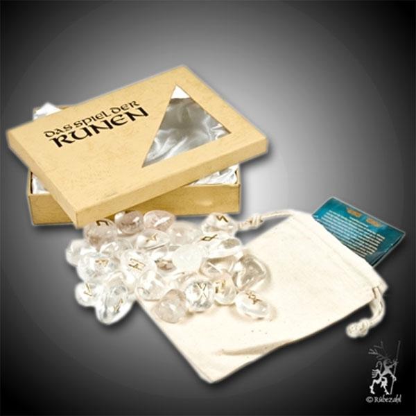 RUNENORAKEL Spiel Bergkristall