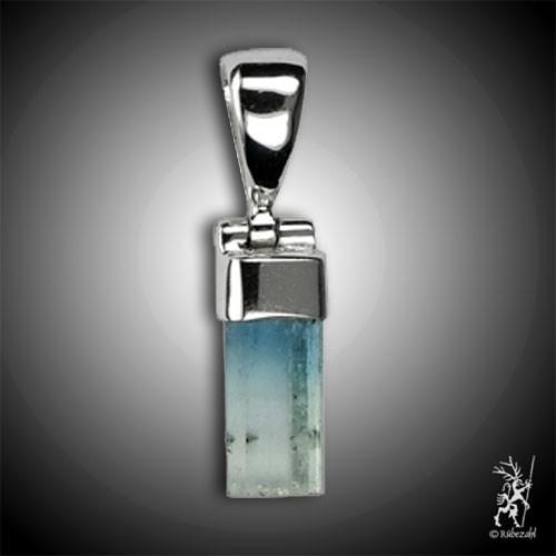 AQUAMARIN Kristall Echtsilberanhänger ca. 2 cm