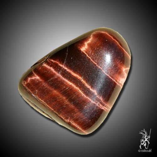 TIGERAUGE rot Trommelstein
