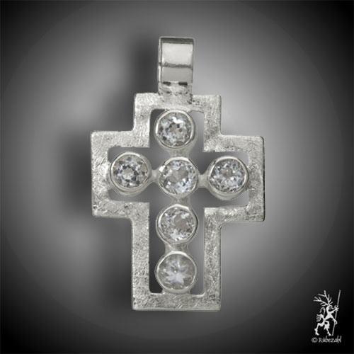 Passions-Kreuz Anhänger TOPAS