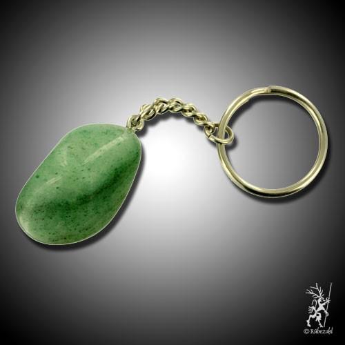 AVENTURIN QUARZ grün Schlüsselanhänger