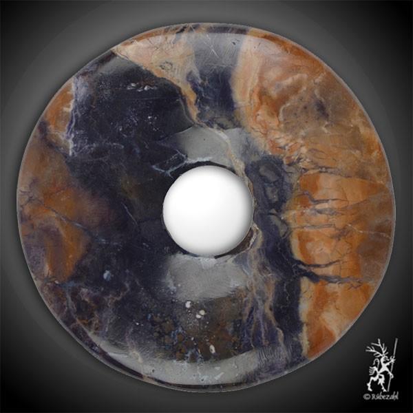 FLUORIT OPAL (Tiffany Stone) Donut 50 mm