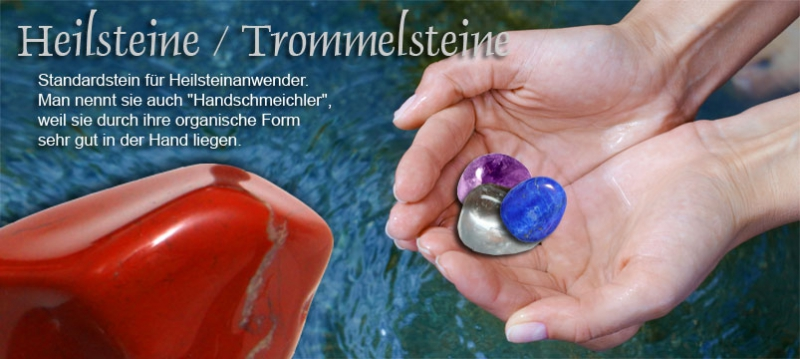 Bergkristall Trommelstein Edelstein Heilstein Wasserstein Halbedelstein
