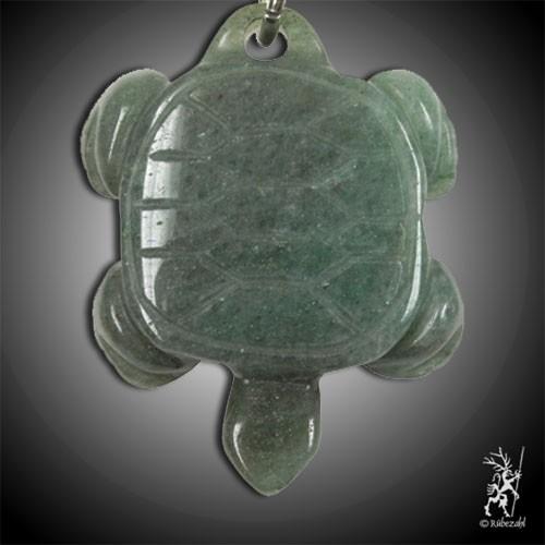 AVENTURIN grün Schildkröte Schlüsselanhänge