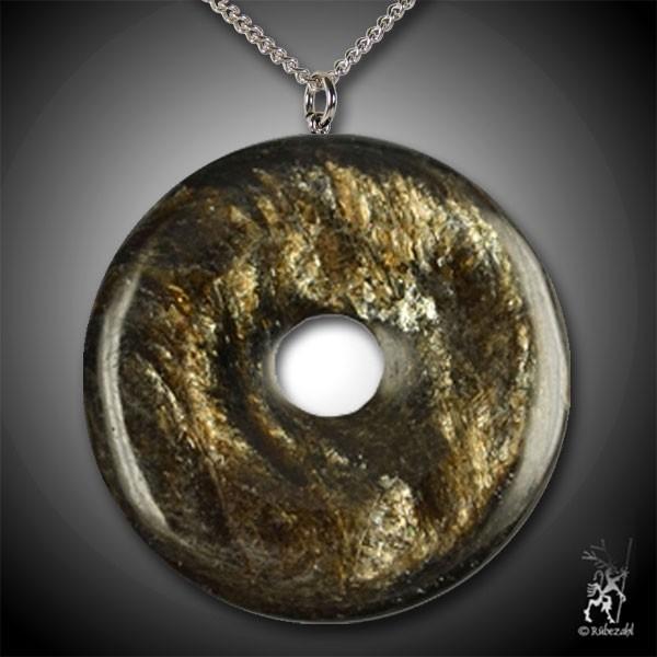 MUSKOVIT (Sternenglimmer) Donut Anhänger