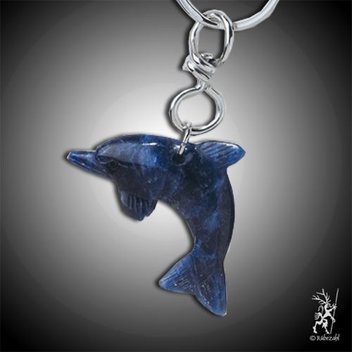 SODALITH Delfin Schlüsselanhänger