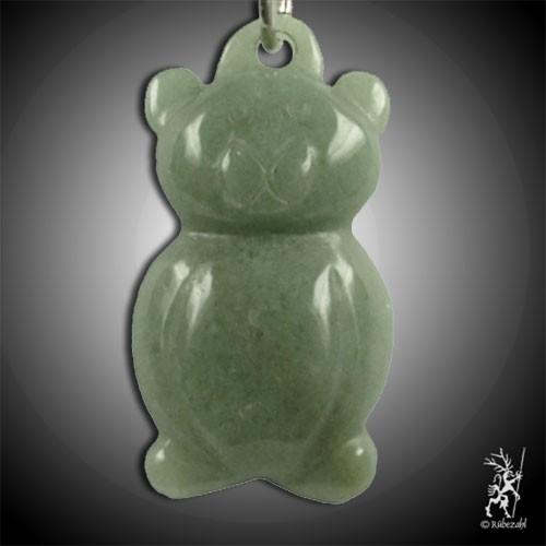 AVENTURIN grün Teddy Schlüsselanhänge