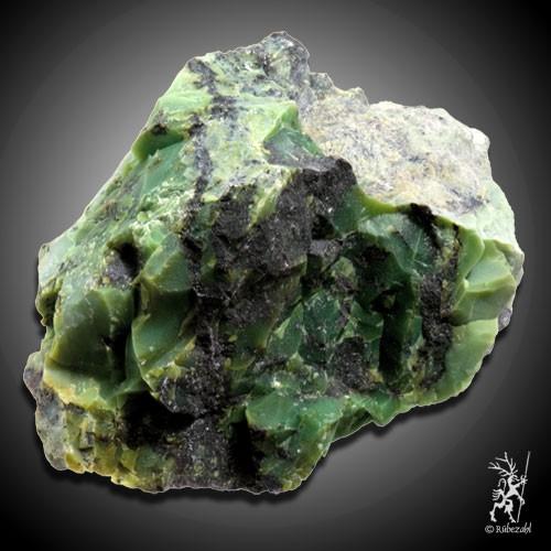 SPECKSTEIN grün (Pyrophyllit) geologisch