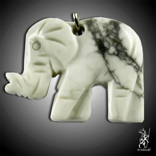 MAGNESIT Elefant Schlüsselanhänger