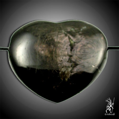 HYPERSTHEN Herzanhänger ca. 4,5 cm geb