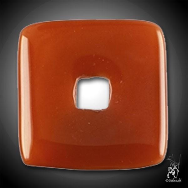 KARNEOL Donut 30 mm quadratisch