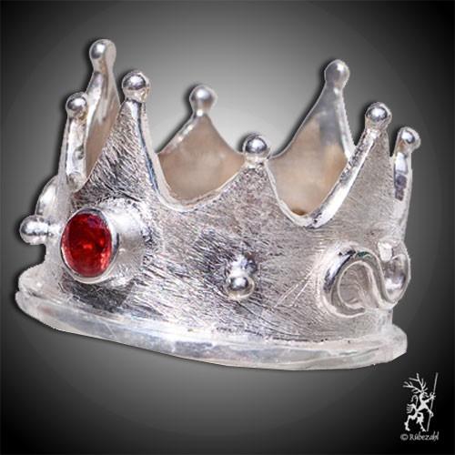 GRANAT Krone Design Echtsilber Ring