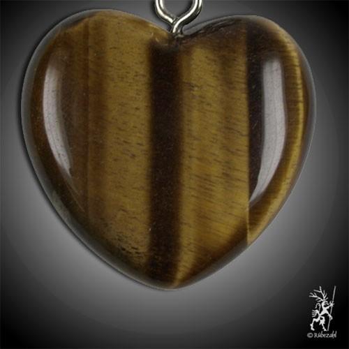 TIGERAUGE Herz Schlüsselanhänger