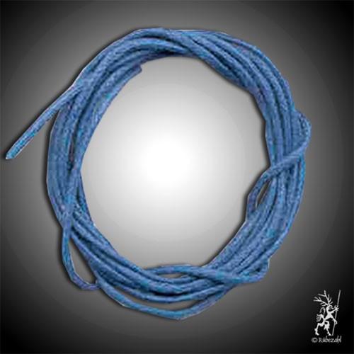 BAUMWOLLBAND blau 1 m