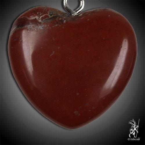 JASPIS rot Herz Schlüsselanhänger